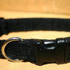 Corduroy Black Hemp Collar | The Good Dog Company