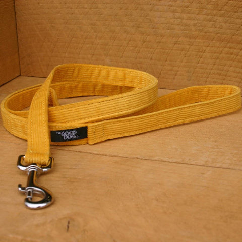 Cord Marigold Standard Leash | The Good Dog Company
