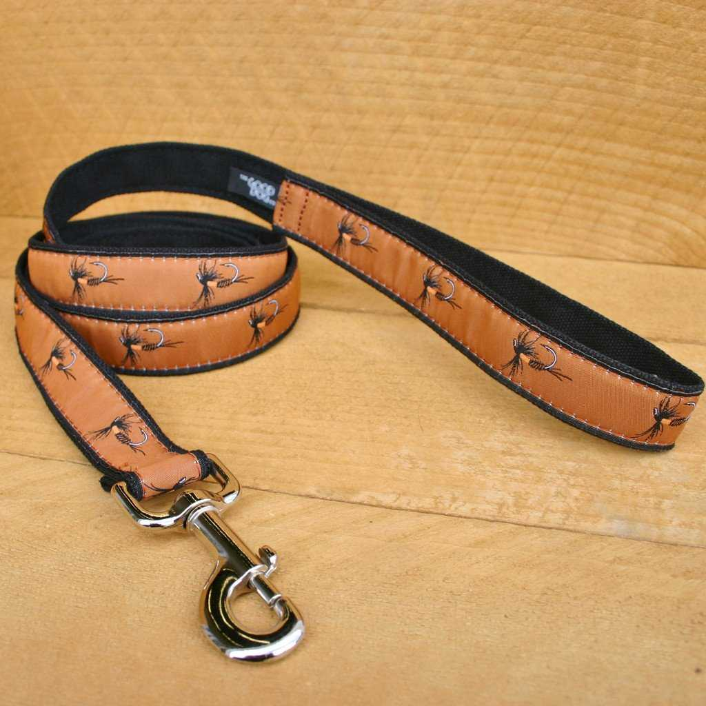 Hemp Dog Leash 6' Earth Fly