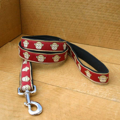 Garnet Monkey Standard Leash | The Good Dog Company