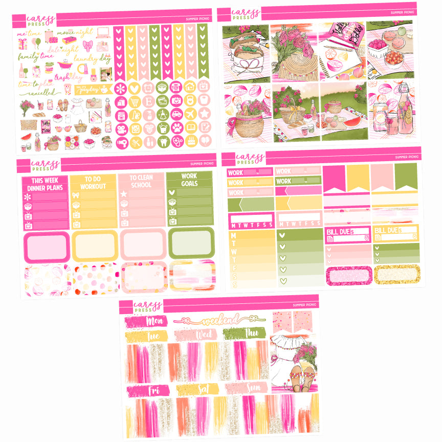 Summer Picnic Mini Kit