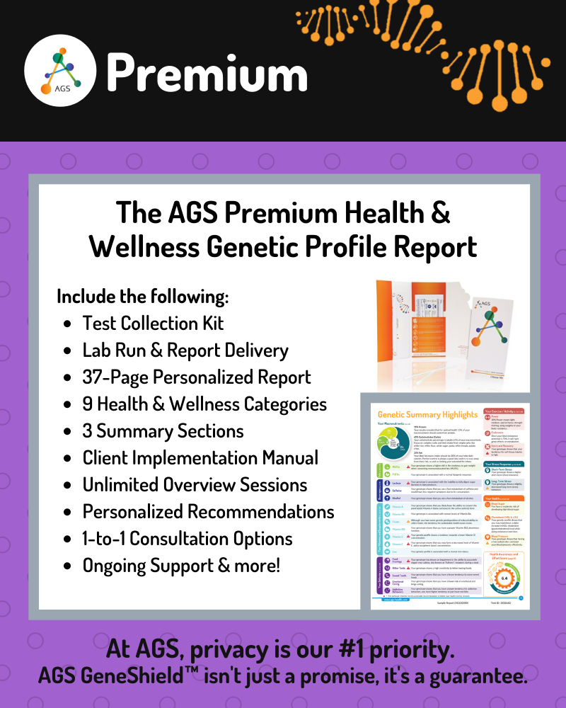 (PRW) Premium Health & Wellness Genetic Test | Provider Consults