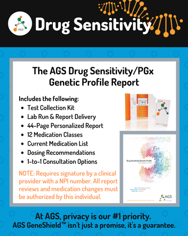 (PRW) Drug Sensitivity/PGx PREMIUM* Test | Provider or Physician Consults