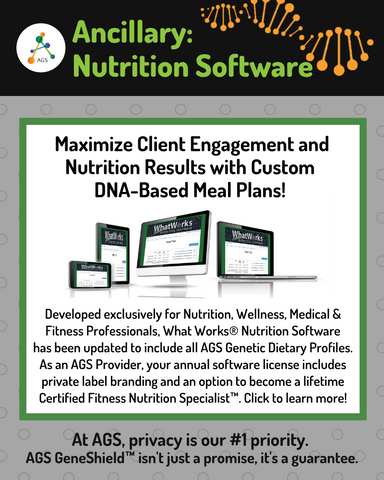 "(PRW) What Works® Nutrition Software | License + CFNS Certification | *DO NOT USE ""ADD TO CART"" BUTTON - SEE PURCHASE INSTRUCTIONS BELOW*"