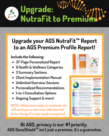 (PRW) NutraFit™ to Premium Genetic Test Upgrade | Provider Consults