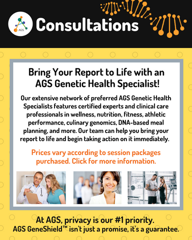 Consultation with an AGS Genetic Health Specialist