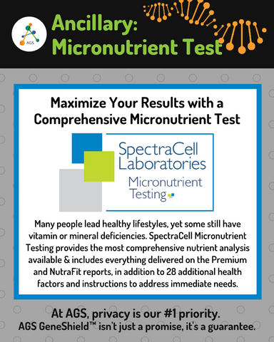 SpectraCell® Micronutrient Testing