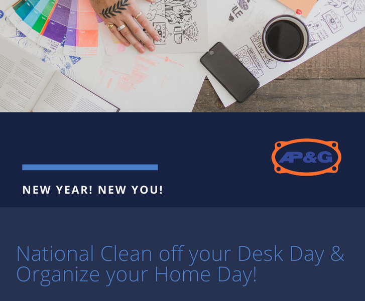 Tips & Tricks to clean and organize your home... and Desk!