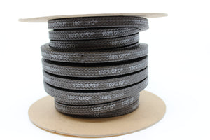 "15/16"" SEPCO ML4002 100% GFO PTFE/ Graphite Packing"