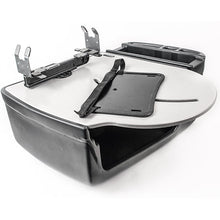 Load image into Gallery viewer, RoadMaster Car Grey Printer Stand & Tablet Mount