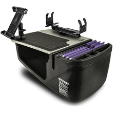 Load image into Gallery viewer, Efficiency GripMaster Grey Printer Stand and iPad/Tablet Mount
