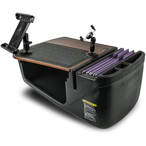 Efficiency GripMaster Mahogany Built-in Power Inverter, Printer Stand and iPad/Tablet Mount