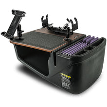 Load image into Gallery viewer, Efficiency GripMaster Mahogany Built-in Power Inverter and Universal iPad/Tablet Mount