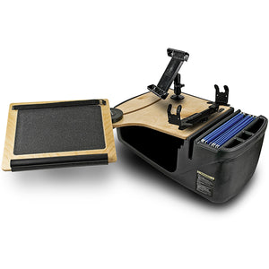 Reach Desk Front Seat Elite Built-in Power Inverter, Printer Stand, X-Grip Phone Mount & Universal iPad/Tablet Mount