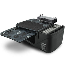 Load image into Gallery viewer, GripMaster Urban Camouflage Built-in Power Inverter, Universal iPad/Tablet Mount & Printer Stand
