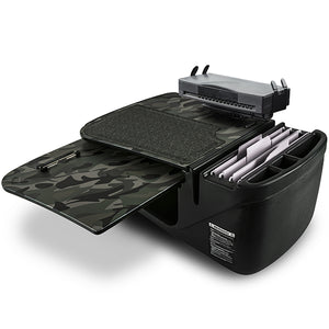 GripMaster Green Camouflage Built-in Power Inverter, Printer Stand, X-Grip Phone Mount & Tablet Mount