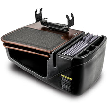 Load image into Gallery viewer, GripMaster Mahogany Built-in Power Inverter, X-Grip Phone Mount & Printer Stand