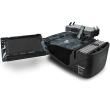 Load image into Gallery viewer, Reach Desk Front Seat Urban Camouflage Built-in Power Inverter & Universal iPad/Tablet Mount
