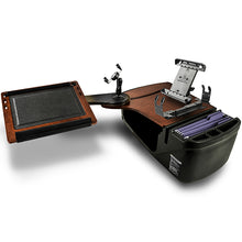 Load image into Gallery viewer, Reach Desk Back Seat Mahogany Printer Stand