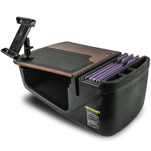 Efficiency GripMaster Mahogany Built-in Power Inverter, Printer Stand and X-Grip Phone Mount