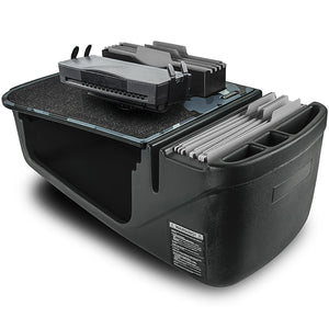 Efficiency FileMaster Urban Camouflage Built-in Power Inverter, X-Grip Phone Mount and iPad/Tablet Mount