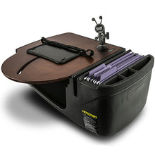 Load image into Gallery viewer, RoadMaster Car Mahogany Built-in Power Inverter & Tablet Mount