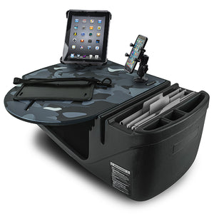 RoadMaster Car Urban Camouflage Built-in Power Inverter, Tablet Mount & Printer Stand
