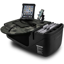 Load image into Gallery viewer, RoadMaster Car Green Camouflage Built-in Power Inverter, X-Grip Phone Mount & Tablet Mount