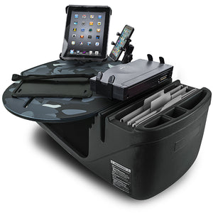 RoadMaster Car Urban Camouflage Built-in Power Inverter, X-Grip Phone Mount & Printer Stand