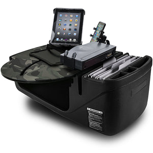 RoadMaster Car Green Camouflage Built-in Power Inverter, X-Grip Phone Mount, Tablet Mount & Printer Stand