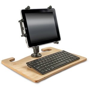 "Wheelmate Extreme 10"" X-Grip Tablet Mount & Bluetooth Keyboard"
