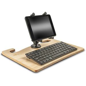 "Wheelmate Extreme 7"" X-Grip Tablet Mount & Bluetooth Keyboard"