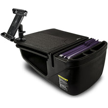 Load image into Gallery viewer, GripMaster Black Built-in Power Inverter & Universal iPad/Tablet Mount