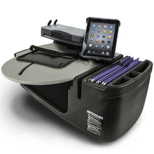 Load image into Gallery viewer, RoadMaster Car Grey Built-in Power Inverter, X-Grip Phone Mount & Printer Stand