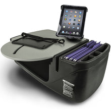 Load image into Gallery viewer, RoadMaster Car Grey Built-in Power Inverter, Tablet Mount & Printer Stand