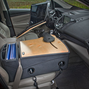 Reach Desk Front Seat Grey Built-in Power Inverter
