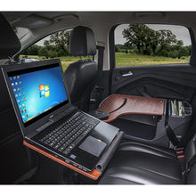 Load image into Gallery viewer, Reach Desk Back Seat Elite Built-in Power Inverter & Printer Stand*