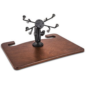 "Wheelmate Mahogany Extreme 7"" X-Grip Tablet Mount"