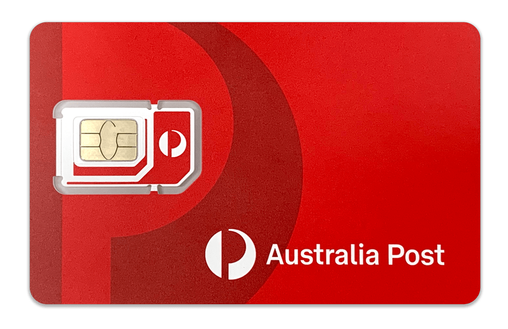 Australia Post Mobile FlexiSIM card