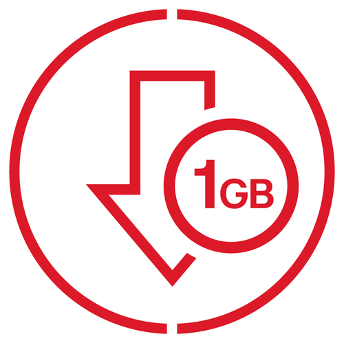 1GB Zone 1 Data Pack