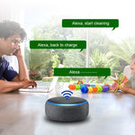 Programable Wi-fi Robot Vacuum/Mop Cleaner