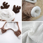 Reindeer Puppy Jumpsuit Costume