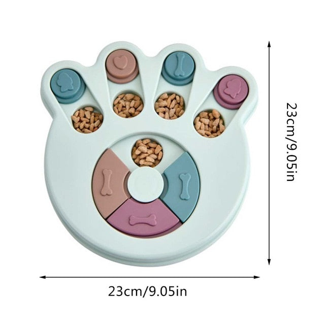 Interactive Feeding Puzzle Bowl