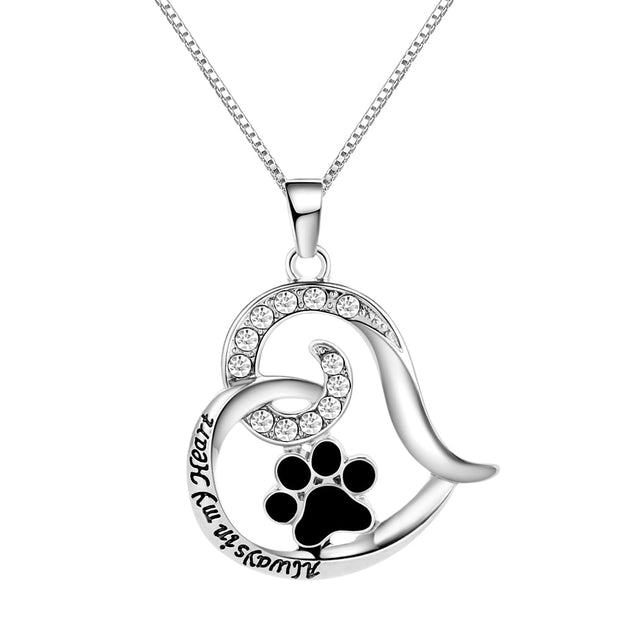 Always in my Heart Memorial Necklace