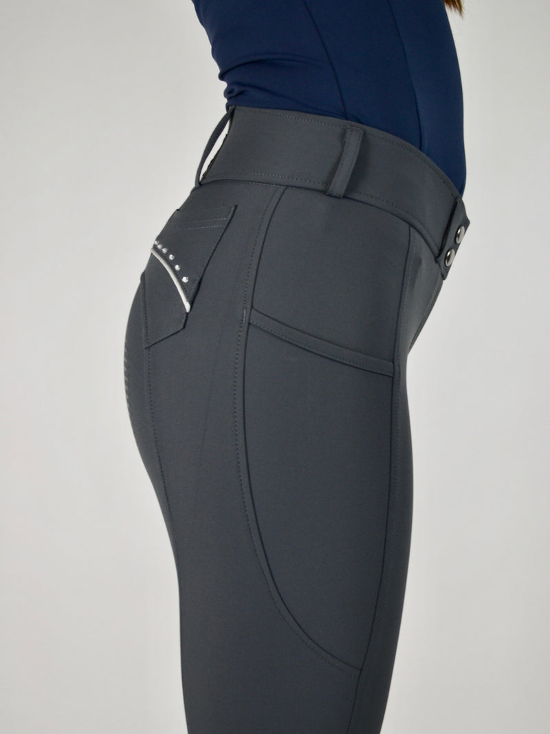 Bobby Breeches in Stone Grey