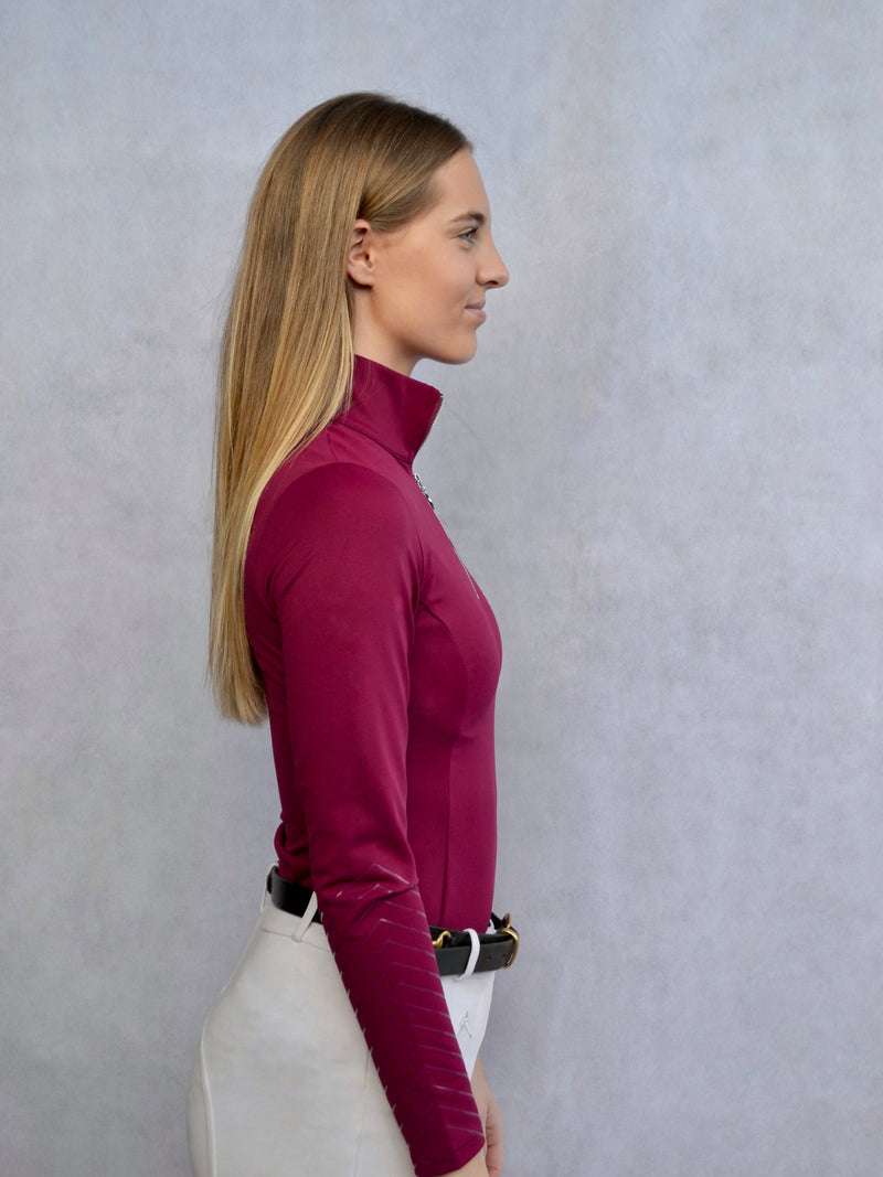 Classic Base Layer in Plum