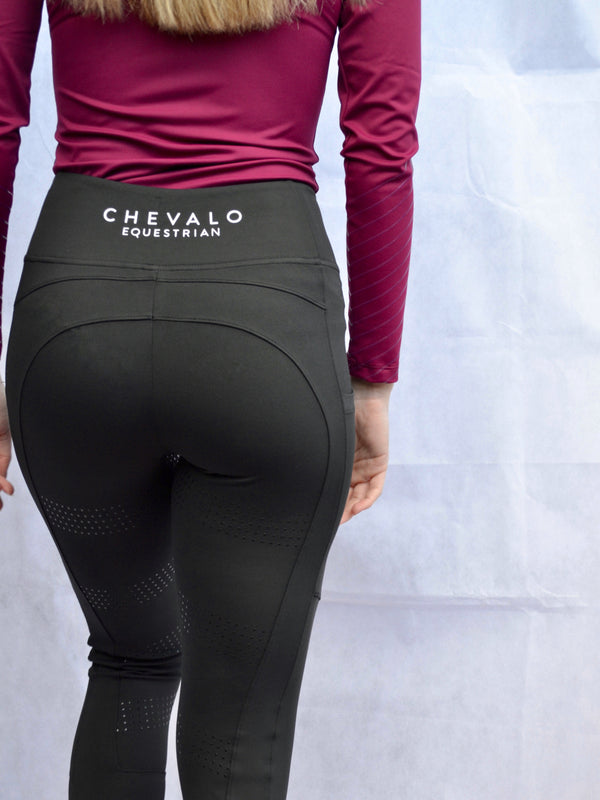 Technical Tight in Black