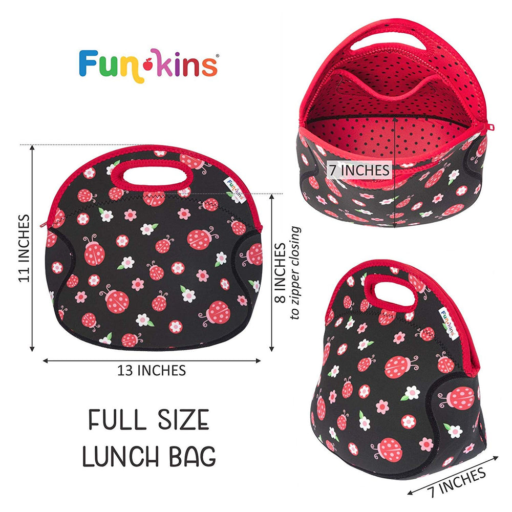 Funkins Fun Lunch Tote for Kids - Large