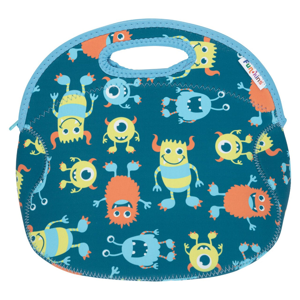 Funkins monster friends kids insulated machine washable lunch bag