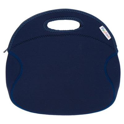 Funkins basic blue kids insulated machine washable lunch bag